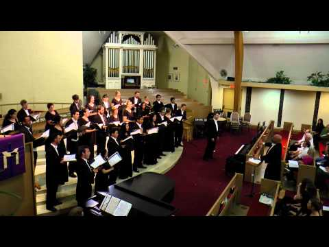 Video from a choral concert in 2014