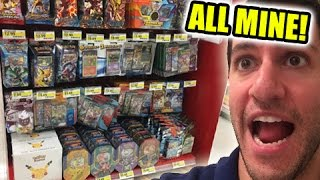 BUYING $500 WORTH OF POKEMON CARDS! - Trip to ALL WALMART and TARGETS!