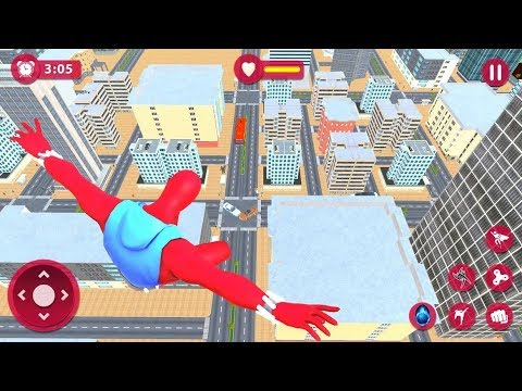 Amazing Spider Super Hero Rope Rescue Mission Part-1 | Spider Hero Vs City Criminal | By Game Crazy