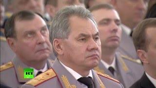 Владимир Путин об операции ВКС РФ в Сирии: Россия не дала разрастись терроризму