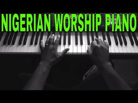 Nigerian worship piano tutorial - Baaba Oh! We are in your pressence