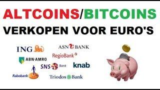 BITCOIN UITBETALEN IN EURO naar BANK IN NEDERLAND