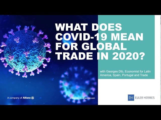 Bekijk de video wat Covid-19 betekent voor de wereldwijde economie