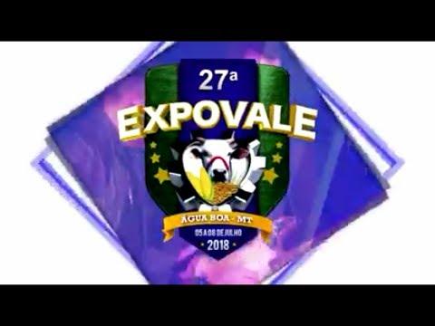 EXPO VALE  EM AGUA BOA MT 2018.