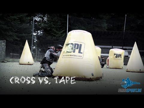 Paintball Tipps - Cross vs Tape