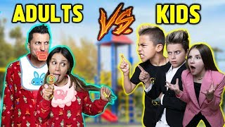 KIDS Turn Into ADULTS & PARENTS Turn Into KIDS! *CHALLENGE* | The Royalty Family