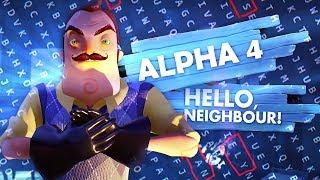 hello neighbor alpha 4  Фан стрим  №1