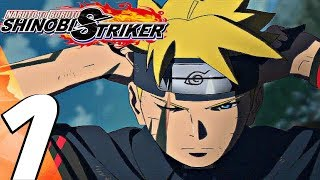 Naruto to Boruto Shinobi Striker - Gameplay Walkthrough Part 1 - Story Mode (Full Game) PS4 PRO