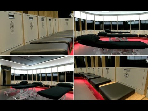 Breaking News -  Manchester United reveal new-look dressing room ahead of new season