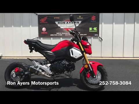 2020 Honda Grom in Greenville, North Carolina - Video 1