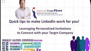 The LinkedIn Minute -  Leveraging Personalized Invitations