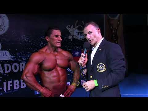 Interview Luis Ricardo Plata. Overall Master BB im San Salvador