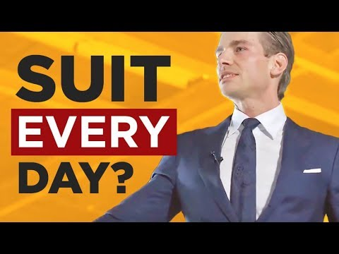 Wear A Suit EVERY Day? POWER & AUTHORITY Uniforms & WHY They Matter | RMRS Style Videos Mp3