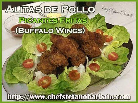 Alitas de Pollo Picantes Fritas (Buffalo Wings)