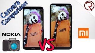 Xiaomi Redmi Note 6 Pro VS Nokia 6.1 Plus (Nokia X6) Camera Comparison