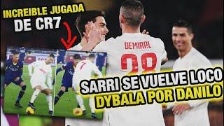 Con Cristiano Ronaldo y Dybala NO PUEDES Jugar así Sarri - ROMA VS JUVENTUS 1-2