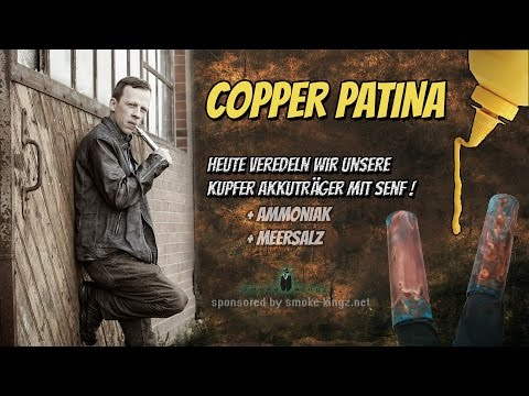 COPPER PATINA  -  Die Senf / Kupfer - Patina Anleitung