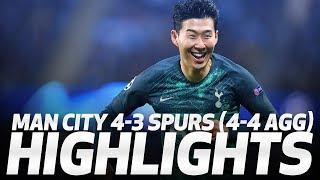 HIGHLIGHTS | Man City 4-3 Spurs (4-4 On Agg - UEFA Champions League Quarter-final Second Leg)
