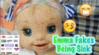 Emma Fakes Being Sick
