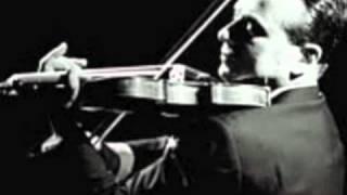Henryk Szeryng plays Bach's Chaconne ('live')