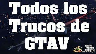 Trucos de GTA 5 - Trucoteca Claves y Códigos PC | PS4 | PS3 | Xbox 360 | Xbox One Trampas Gta V