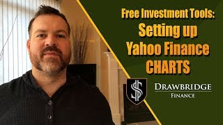 Setting Up Yahoo Finance Charts