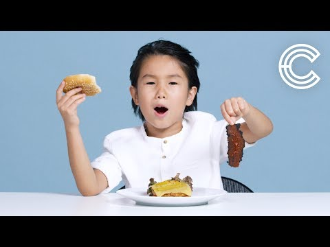 Kids Try Vegan Food
