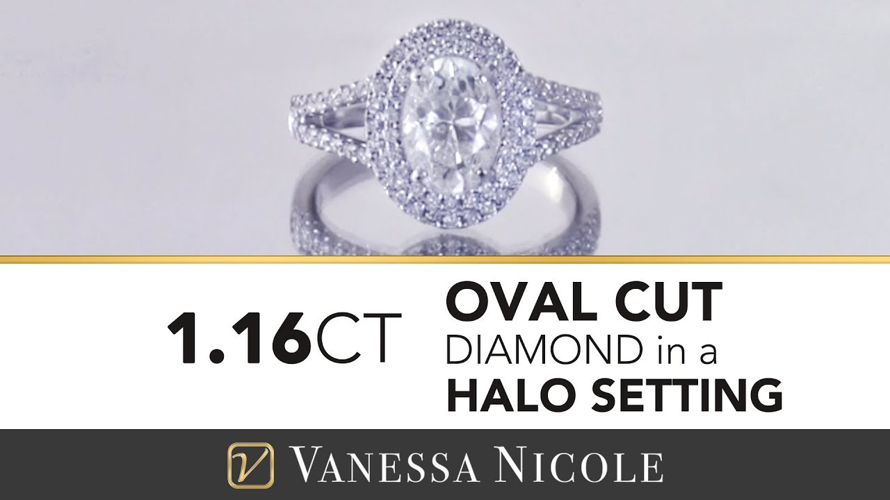 1.16ct Oval Cut Diamond Ring