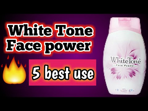 White tone face powder review : 5 ways to use white tone face powder | How to use face powder