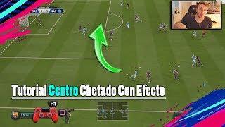 COMO CENTRAR EN FIFA19 - Tutorial Centros Chetados Rasos '  Truco ESPECIAL '