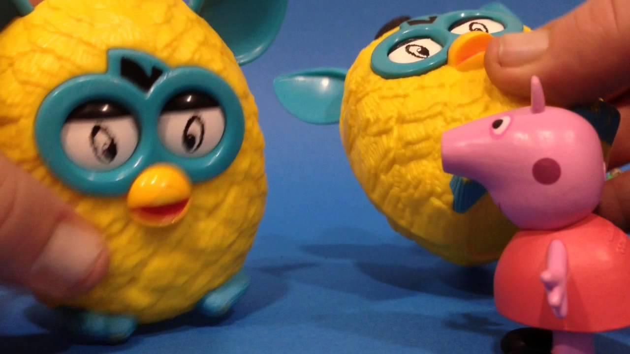 El cumpleaños de Peppa Pig con los Furbies