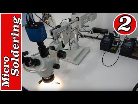 MOBILE REPAIRING COURSE #2 MicroSoldering - YouTube