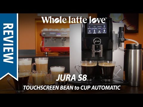 Review: Jura S8 Touchscreen Automatic Bean to Cup Coffee Machine