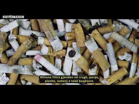 #SotpërMjedisin - Cigaret / #TodayforEnvironment - Cigarettes