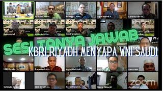 KBRI Riyadh Sapa WNI di Saudi: Dari Sambutan Dubes Hingga Pengaduan dan Pertanyaan Roket Houtsi