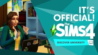 The Sims 4 Discover University: IT'S OFFICIAL! (Reveal Info)