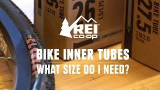 What Size Bike Inner Tube Do I Need? || REI