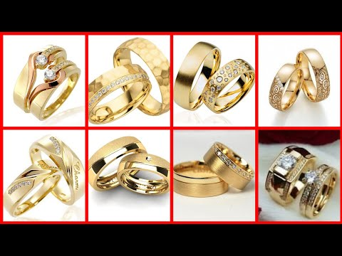 Most beautiful classic gold wedding ring designs collection
