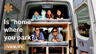 Can a family of 5 find home where they park their campervan?