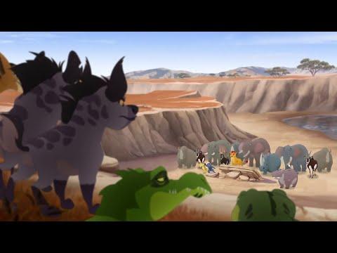Lion Guard: The Pride Landers Save Makuu | Pride Landers Unite! HD Clip