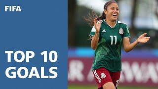 TOP 10 GOALS - FIFA U20