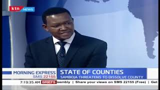 STATE OF COUNTIES: Governor Mutua explains row between MCAs, governors and how it affects kenyans