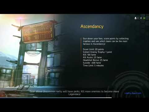 Shadowgun Legends Ascendency Pistols only