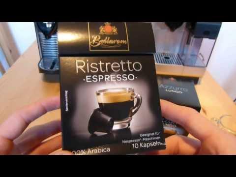 Lidl Bellarom Kaffeekapseln im Test - kompatibel mit Nespresso-Maschinen