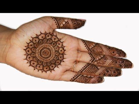 traditional indian pakistani mehndi design by shruti arjun anand