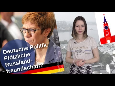 Deutsche Politik – plötzliche Russlandfreunde? [Video]