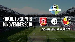 Live Streaming TV One PS Mojokerto Vs Semen Padang Fc, Rabu (14/11/2018) Pukul 15.30 WIB