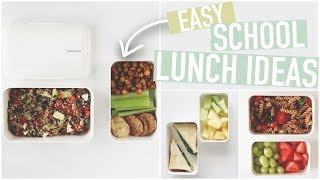 EASY SCHOOL LUNCH IDEAS | University Student + Bento Box