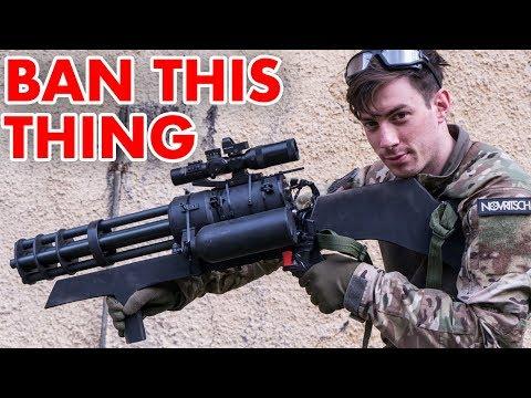 Tato zbraň by měla být zakázána
