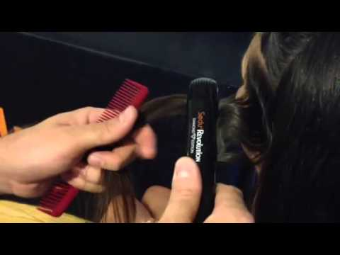 HOW TO: Vintage S Wave With Flat Iron